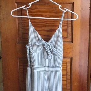 Easy summer striped jumpsuit